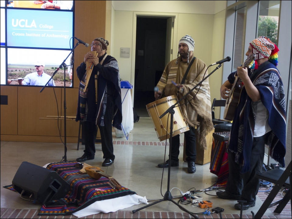 A Peruvian Ensemble Performs for the 2016 Cotsen Prize Reception