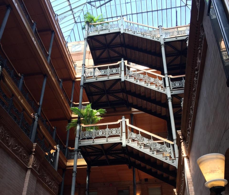 Bradbury Building interior