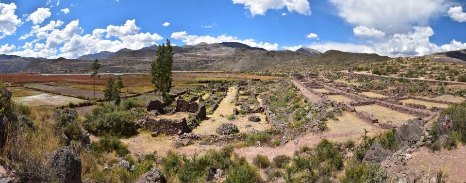Kanaraqay, Peru panorama