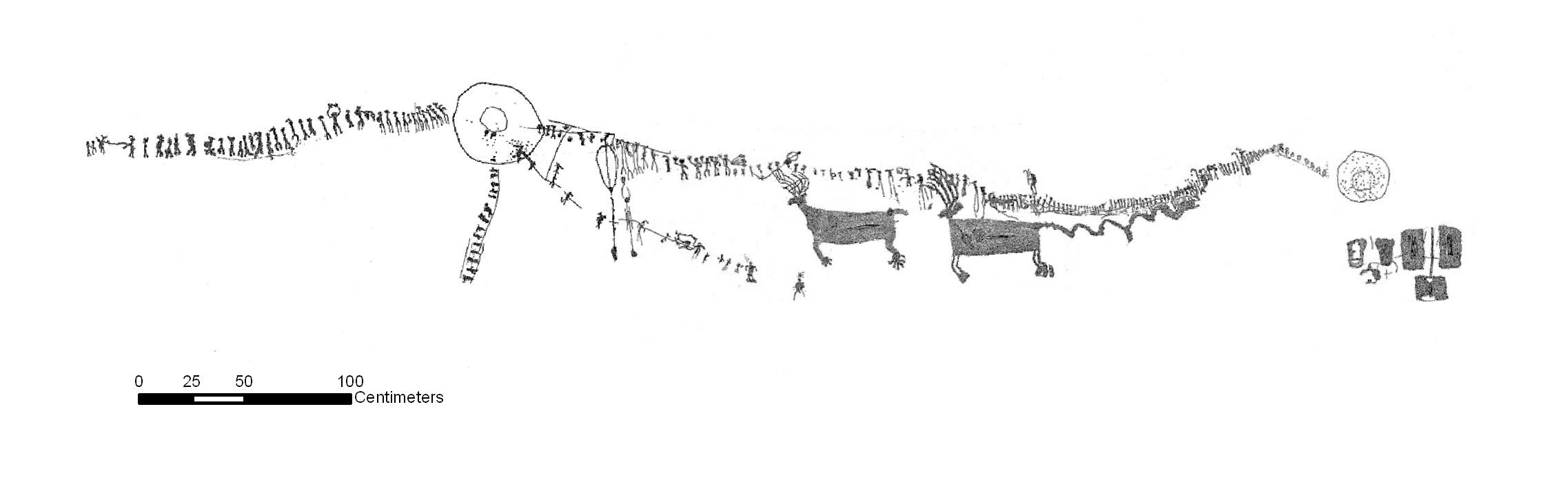 Crucible of Pueblos rock art